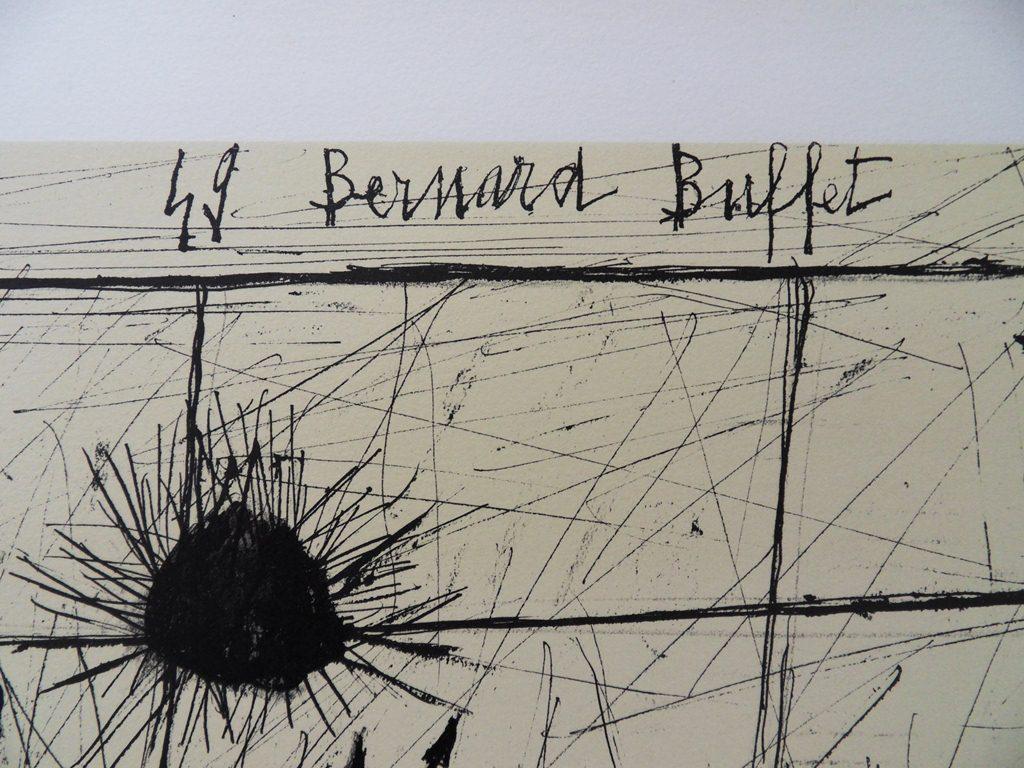 Details about bernard buffet quot lampe temp 234 te quot lithographie signee